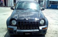 Jeep Liberty 2004 Black for sale