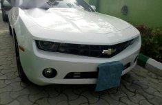 Chevrolet Camaro 2013 White for sale