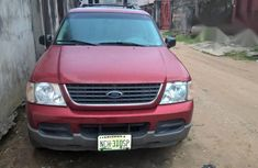 Ford Explorer 2002 4.0 Sport Track Automatic Red for sale