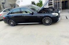 Mercedes-Benz E63 2016 Black  for sale