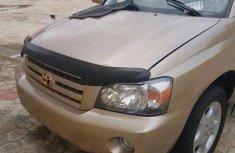 Toyota Highlander 2004 Goldfor sale