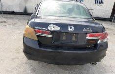 Honda Accord 2012 2.0 Sedan Automatic Black for sale