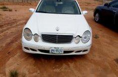 Mercedes-Benz E320 2005 White for sale