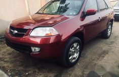 Acura MDX 2005 Red color for sale