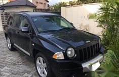 Jeep Compass 2008 Black for sale
