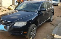 Great Volkswagen Touareg 2006 Black for sale