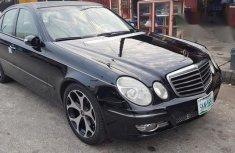 Mercedes-Benz E320 2006 Black for sale