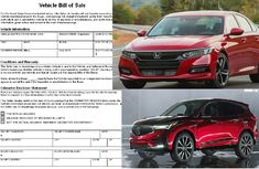 How to write a car bill of sale in simple steps