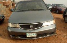 Honda Odyssey 2001 Grayfor sale