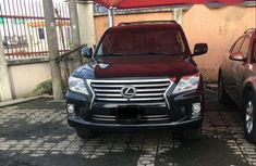 Lexus LX570 2012 Black for sale​​​​​​​
