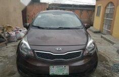 Kia Rio 2014 Brown for sale