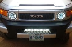 Toyota FJ Cruiser 2007 Silver for sale