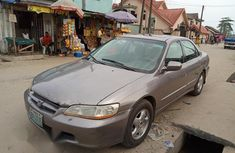 Honda Accord 2000 Coupe Silver for sale