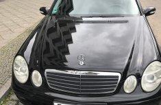 Mercedes-Benz E200 2005 Black for sale