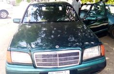 Mercedes-Benz C230 2000 Green for sale