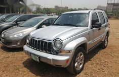 Jeep Liberty Limited 4x4 2005 Silver for sale