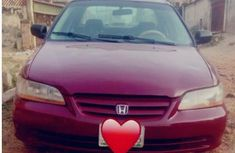 Honda Accord Coupe 2000 Red  for sale