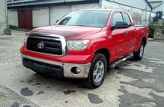 Toyota Tundra 2011 Petrol Automatic Red for sale