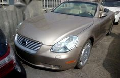 Lexus SC430 2002 Gold for sale
