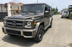 Toks Mercedes-Benz G63 2014 Gray for sale
