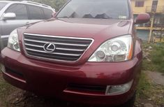 Toks Red 2008 Lexus GX for sale