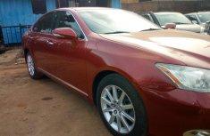 2011 Orange Lexus ES for sale