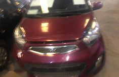 Kia Picanto 2014 Red for sale