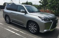 Toks Lexus LX 2017 Gray for sale