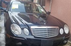 Mercedes-Benz E350 2007 Black for sale