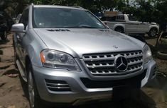 Mercedes-Benz ML350 2011 Silver for sale