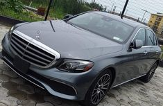 Toks 2018 Grey Mercedes-Benz E300 for sale in Lagos