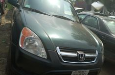 Honda CR-V 2004 Blue for sale