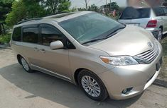 Toks Toyota Sienna 2015 Gold for sale