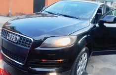 Audi Q7 2007 Black for sale