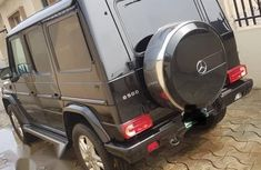 Mercedes-benz G500 2011 Black for sale