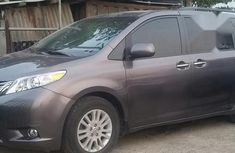 Toks Toyota Sienna 2016 Gray for sale