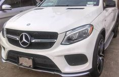 Mercedes-Benz GLE-Class 2017 White for sale