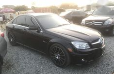 Mercedes-Benz C63 2008 Black for sale