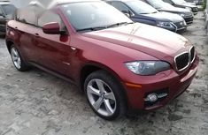 BMW X6 Jeep 2012 Red for sale