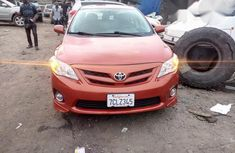 Toyota Corolla 2013 Orange for sale