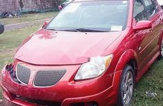 Pontiac Vibe 2007 Petrol Automatic Red for sale