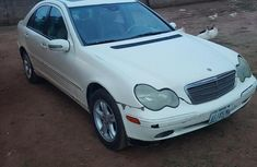 Mercedes-Benz C240 2003 White for sale