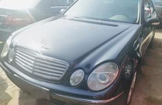 Mercedes-Benz E240 2003 Black for sale