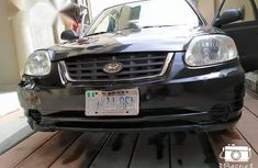 Hyundai Accent 2000 Black for sale