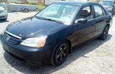 2002 Honda Civic Automatic Petrol Black for sale