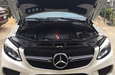 Mercedes-Benz GLE-Class 2016 White for sale
