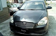 Hyundai Accent 2008 Black ₦600,000 for sale