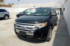 Ford Edge 2012 Black color for sale