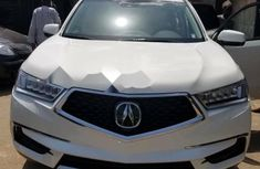 2017 Acura MDX White  For sale