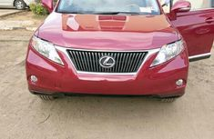 Lexus RX 2010 350 Red color for sale